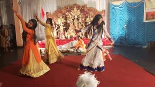 Groupe Dance Performance remix durga puja 2016