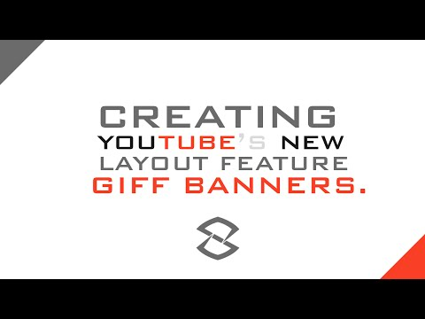 Photoshop Tutorial | Creating YouTubes GIF Banners | 2014 NEW FEATURE