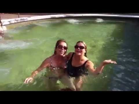 Watch a funny pool video with RFX leaders Leigh Barnes & Natalia Yosco..Plus a Surprise guest