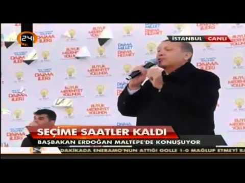 Başbakan Erdoğan - AKP İstanbul Maltepe Mitinginde Konuştu  & Gülen'e Ağır Eleştiri - 29