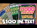 $100 in Tix from ChiTown Scratcher! $1000 Frenzy + MORE! ✦ Illinois Lottery Scratch Offs