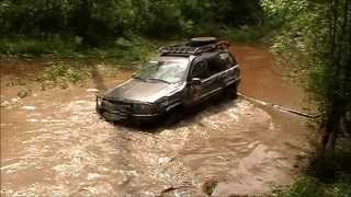 Jeep Grand Cherokee WJ surfing))