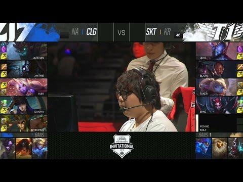 SKT vs CLG Highlights - SK TELECOM T1 vs COUNTER LOGIC GAMING Game 4 - 2016 MID-SEASON INVITATIONAL