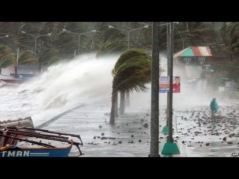 TYPHOON HAIYAN BATTERS THE PHILIPPINES - BBC NEWS