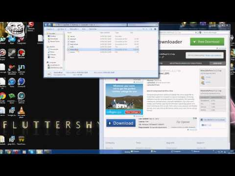 Minecraft how to install the mine little pony mod 1.5.2