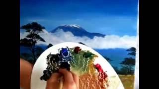 Painting Mount kilimanjaro sp