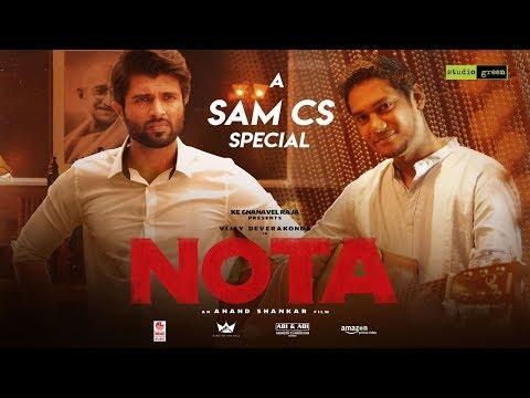 NOTA - THE RISE OF A LEADER - Making Video    Vijay Deverakonda   Mehreen   Anand Shankar   Sam C S