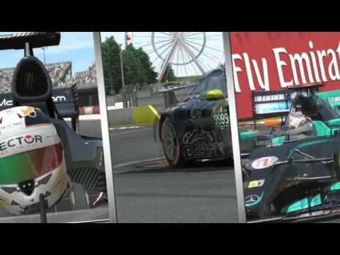Intro Virtual Racing Group Live Streaming