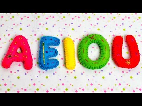 Las Vocales Español - A E I O U - Videos Educativos para Ni...