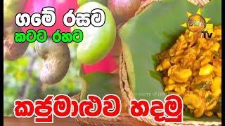 Let's make cashews for the taste of the village