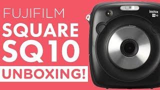 Unboxing: Fujifilm Instax SQUARE SQ10 Hybrid Instant Camera