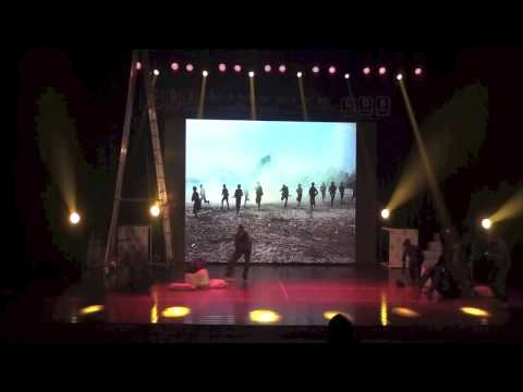 Tribute To The Indian Army - By Cds Dance Stars During Limelite 2013 Bangalore video