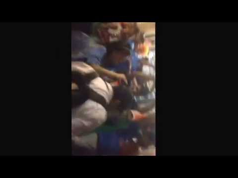 Post match celebrations on Adelaide streets after India pak match - World Cup 2015