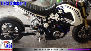 Honda MSX 125 | New modified in Cambodia 2016 Part2