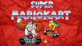 Poncho Brothers - Pod Fiction Plays - Super Mario Kart (SNES)