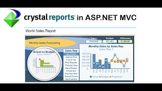 How to use Crystal Report in MVC4.