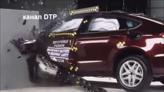 Краш тесты FORD FUSION Crash tests FORD FUSION
