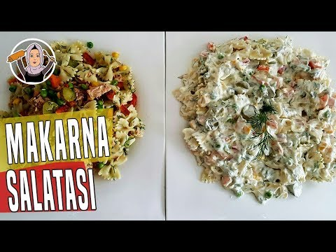 Makarna Salatası Tarifi Videosu - Salata Tarifleri