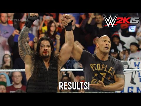 Roman Reigns Wins Royal Rumble 2015, Wwe Royal Rumble 2015 Match Result! video