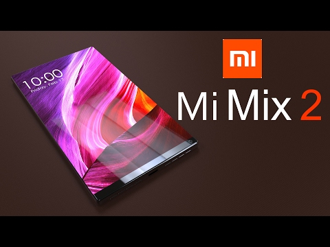 Xiaomi Mi Mix 2 Realistic Concept with 93% Screen To Body Ratio & Dual Camera Module
