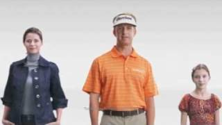 Julianna Pitt in National PGA Tour Together Charity Commercial
