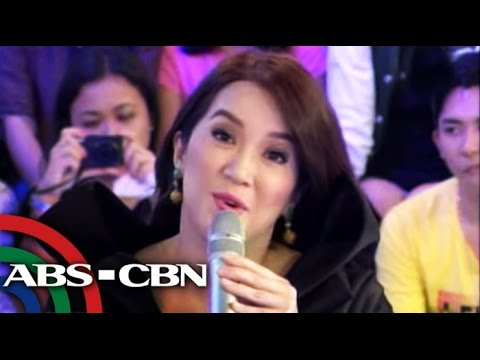 Kris grilled on GGV