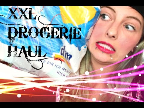 Xxxl Drogeriehaul September oktober 2014 video