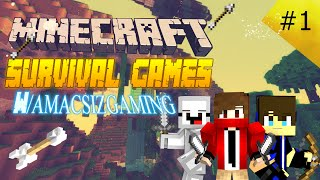 Minecraft : Survival Games # Bölüm 1 # Trol!