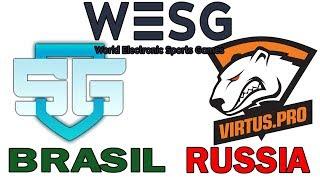 SG VS TEAM RUSSIA (VIRTUS PRO)  |  BO3  | WORLD ELECTRONIC SPORT GAMES  2018 | CUARTOS DE FINAL
