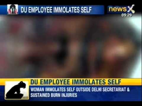 India Shamed : Women immolates self after being harassed by the college principal and staff