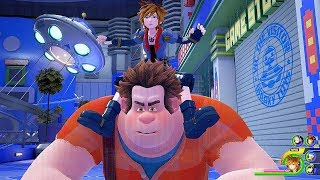 KINGDOM HEARTS 3 - Toy Story World Gameplay @ 1440p (60ᶠᵖˢ) HD ✔
