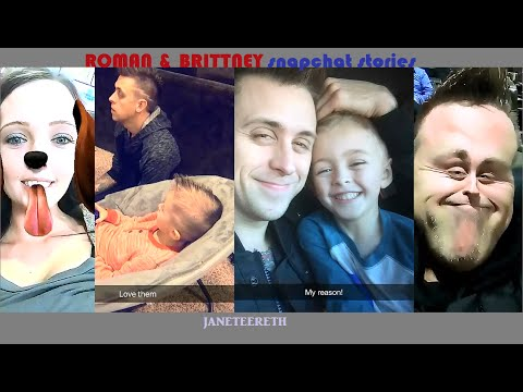 ROMAN ATWOOD & BRITTNEY SMITH snapchat videos and pictures