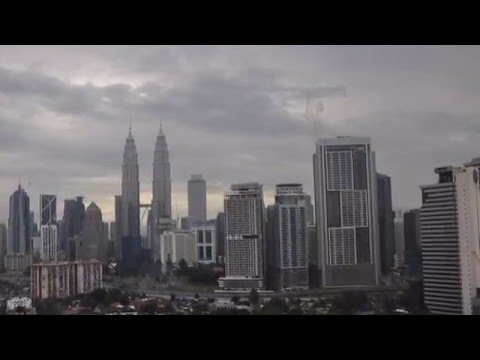 Morning at KLCC Kuala Lumpur - 1 Jan 2016