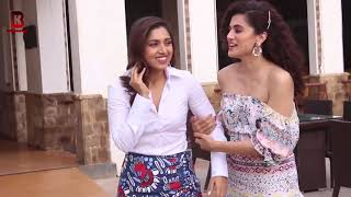 "Taapsee Pannu Fun With Bhumi Pednekar In Promotion Of His Movie ""SAANDH KI AANKH"" AT SUN & SAND"