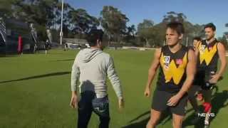 Werrribee FC Ch7 News w/ International Horse Racing Reps
