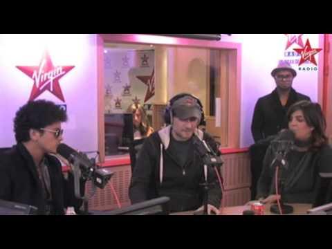 Bruno Mars Interview - Virgin Radio (France)