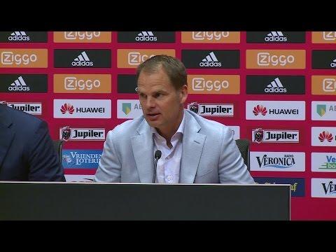 Ajax-trainer Frank de Boer: 'Ik gun het Phillip Cocu en PSV van harte, volgend jaar wij weer'