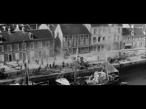 El Día Más Largo (1962) - Asalto A Ouistreham (escena Plano Secuencia)