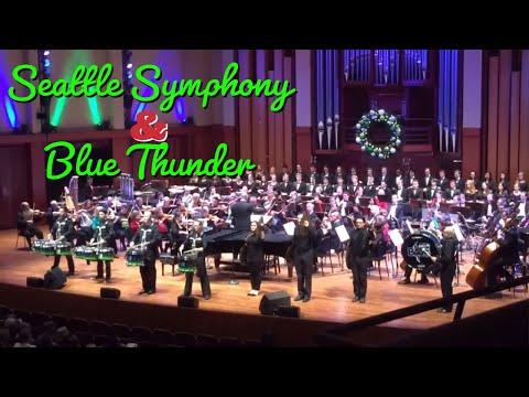 Blue Thunder & Seattle Symphony - Little Drummer Boy