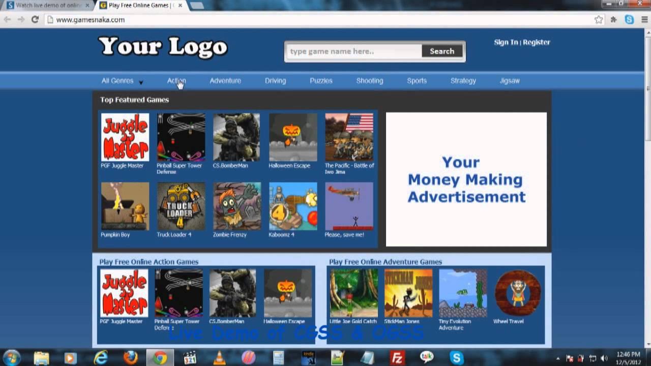 start online games