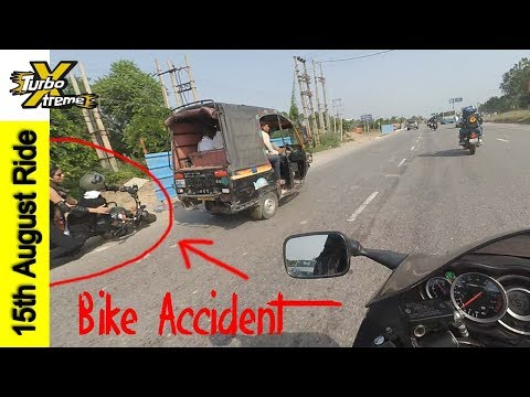 Hayabusa Ride On 15th August | Bike Accident | TURBO XTREME