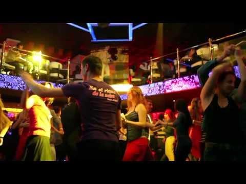 "Social dancing on Fashion Salsa Party in ""Museum"" night club (dance studio ""Latin Motion Ukraine"")"
