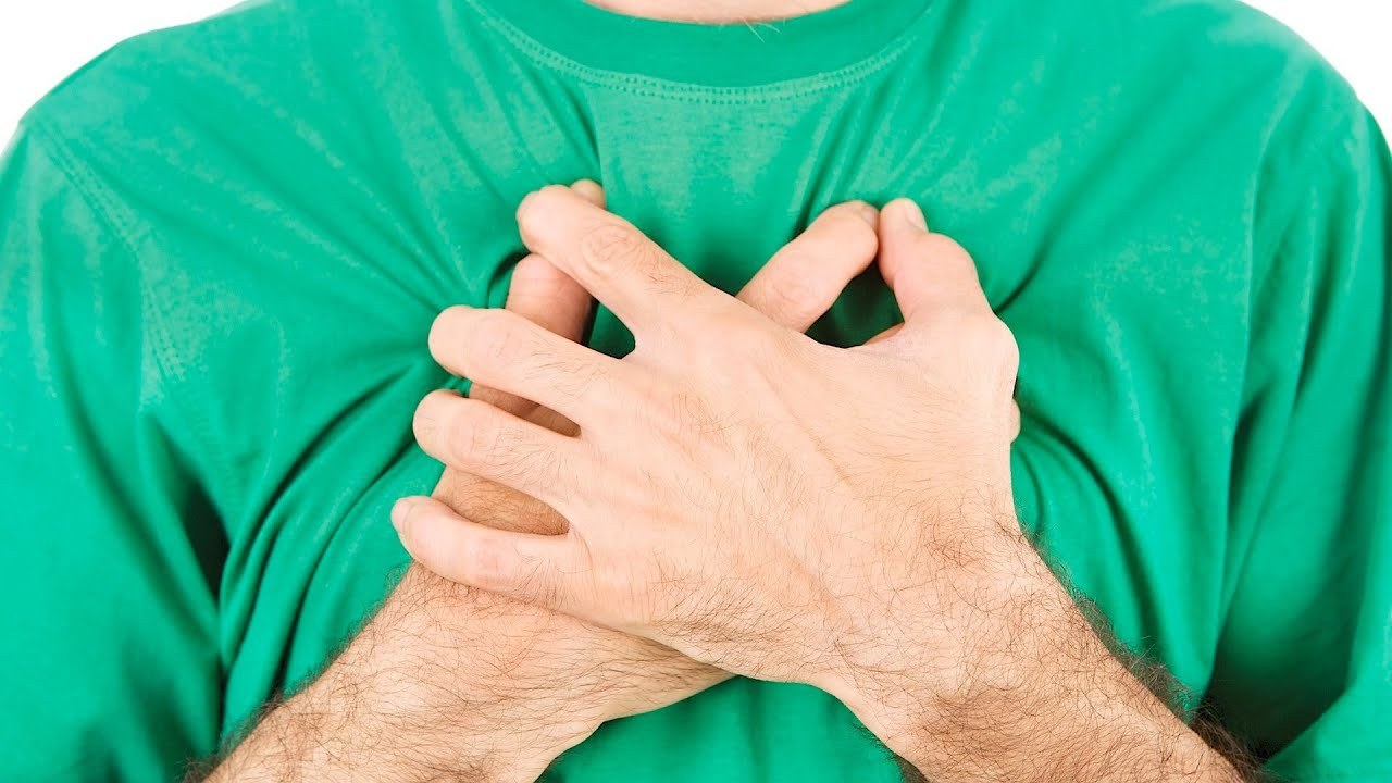 Легкая боль в груди 9 фотография