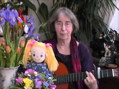 Mary Mary quite contrary - a nursery rhyme