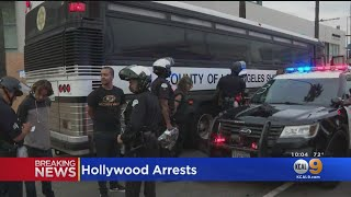 Dozens Arrested For Curfew Violations, Unlawful Assembly After Hollywood Protest