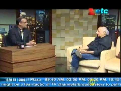 Mahesh Bhatt With Komal Nahta