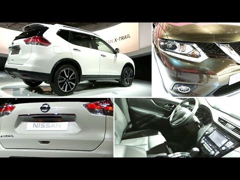 New Nissan X-Trail 2014 Review - Interior and Exterior Walkaround