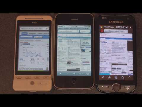 HTC Hero Browser Wars