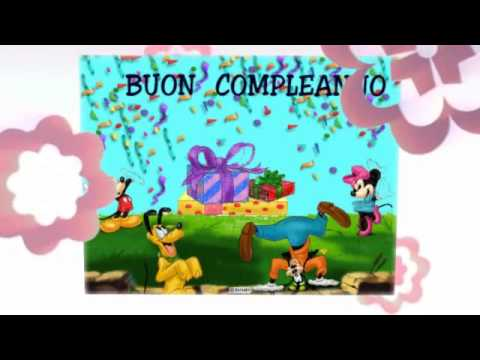 Buon Compleanno in musica! Tanti Auguri a Te! Video divertente Disney, canzone Happy Birthday to you