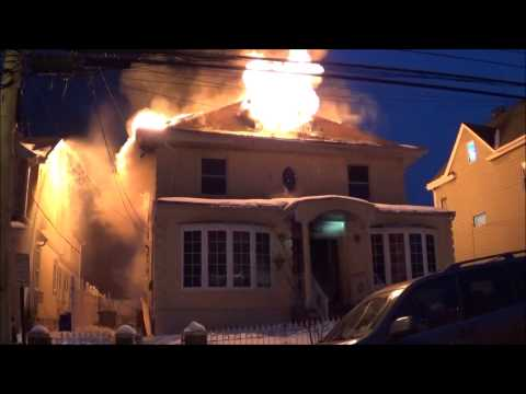 2-alarm house fire injures 6 NY firefighters